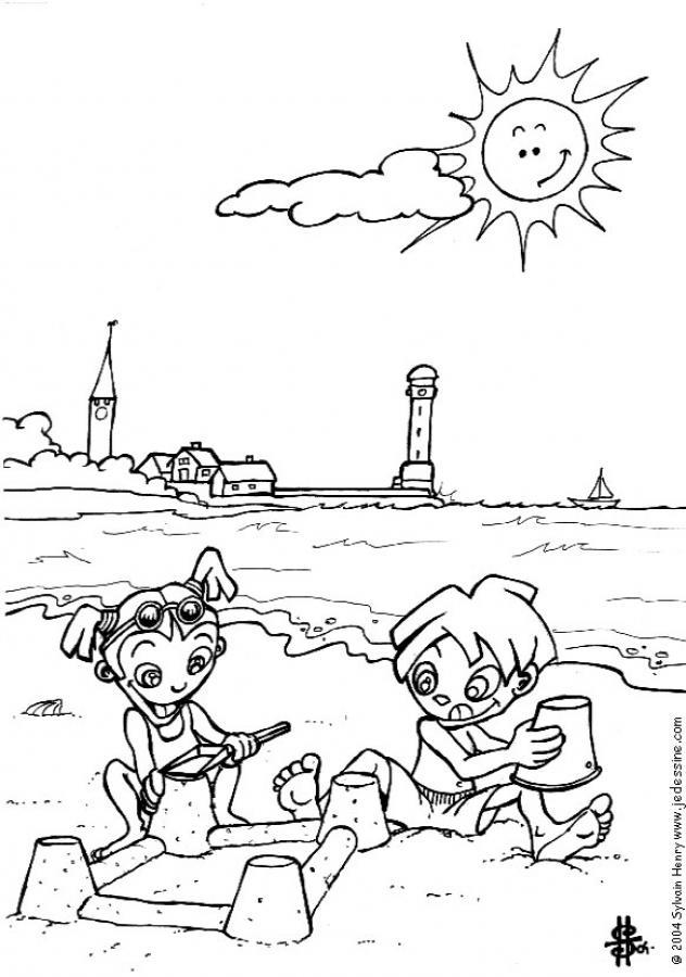 Maestra de Infantil: Dibujos para colorear el verano