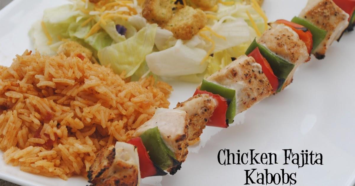 Durfee Family Recipes: Chicken Fajita Kabobs
