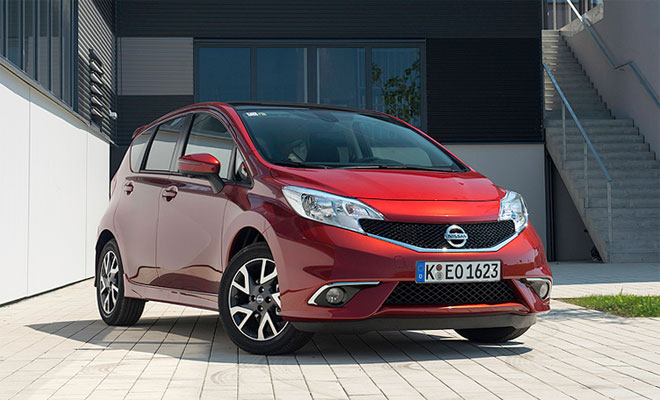 2014 Nissan Note front view