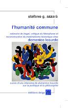 Stefano G. Azzarà: L'humanité commune, éditions Delga, Paris