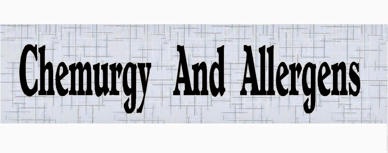 Sister Blog Chemurgy and Allergens