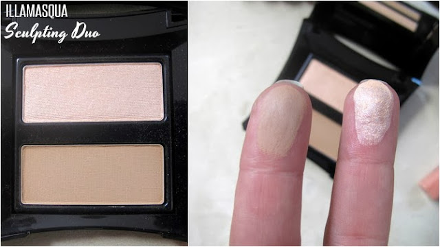 Illamasqua sculpting duo swatches photos