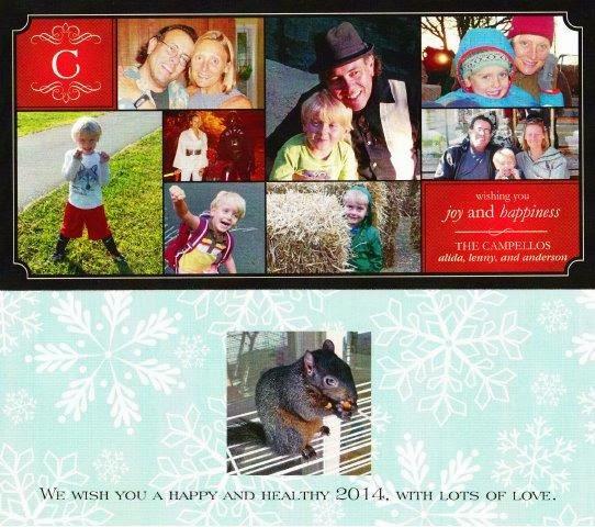 Campello's 2013 Christmas Card