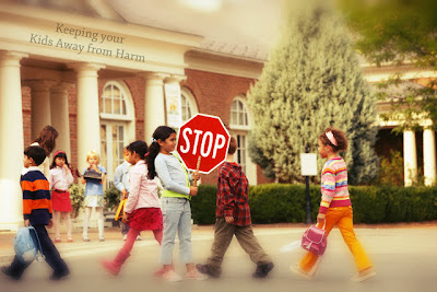 Keeping your Kids Away from Harm's Way on the Road as Pedestrians