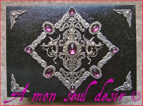 Boite à Bijoux Dragon médiéval medieval fantasy Daenerys Targaryen Jewelry Box
