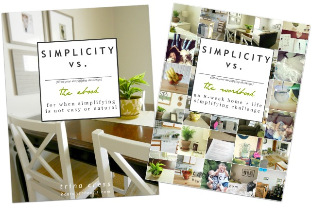 Simplicity VS: simple-living ebook + workbook