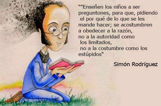 Simón Rodriguez Maestro Nuestro Americano