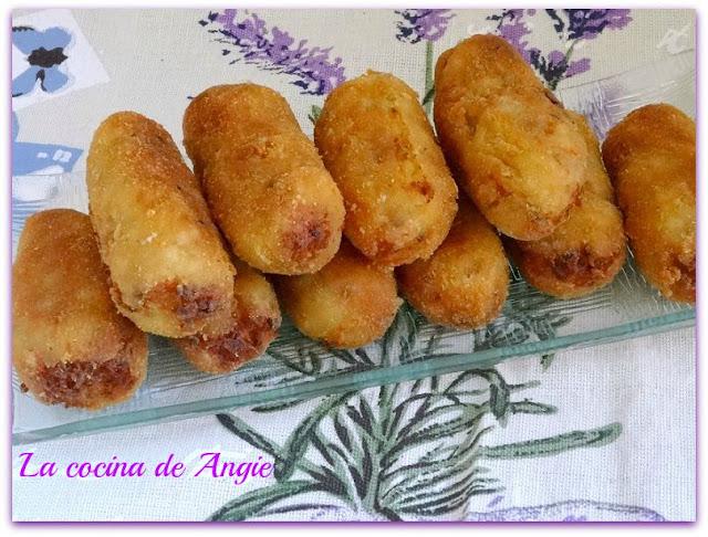 Croquetas De Carne Y Puré De Patata