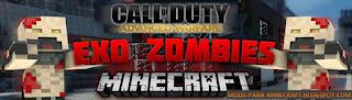Minecraft Exo Zombie Mapa para Minecraft 1.8
