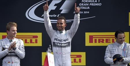 Lewis Hamilton vence Gp da Itália 2014