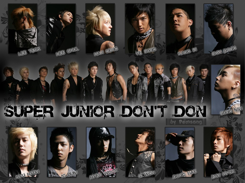 View Super Junior Punk Style wallpaper  Download Super Junior Punk