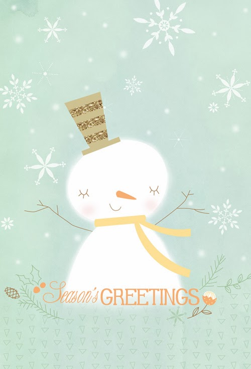 http://society6.com/HollyBrookeJones/Seasons-Greetings-Snowman-DkS_Print#1=45