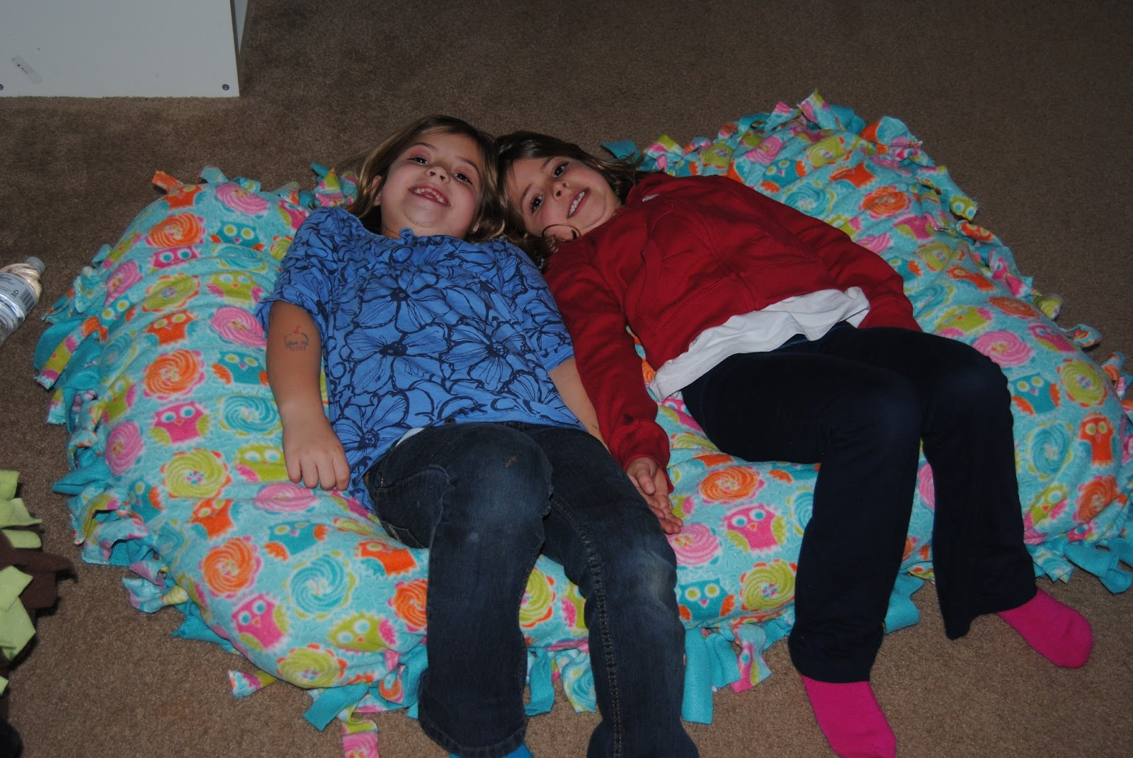 The Hawkins Family: Floor Pillows
