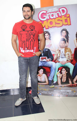 Grand Masti - Aftab at promotion