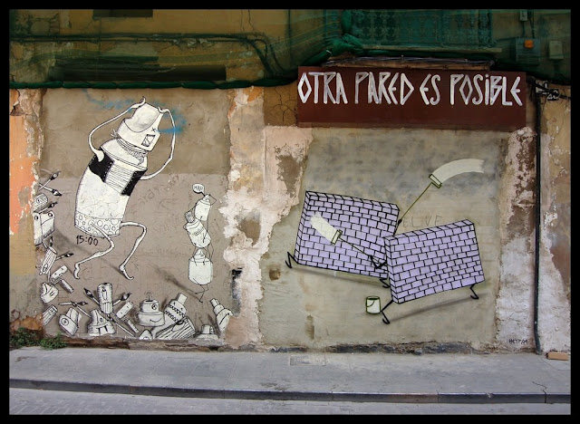 Escif. Street Art
