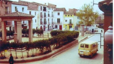 Foto histórica Plaza La Litera de Binéfar