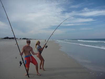 Beach fishing nj for Surf fishing for sharks