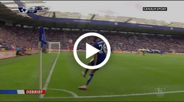 VIDÉO. 2 passes décisives pour Mahrez contre Aston Villa