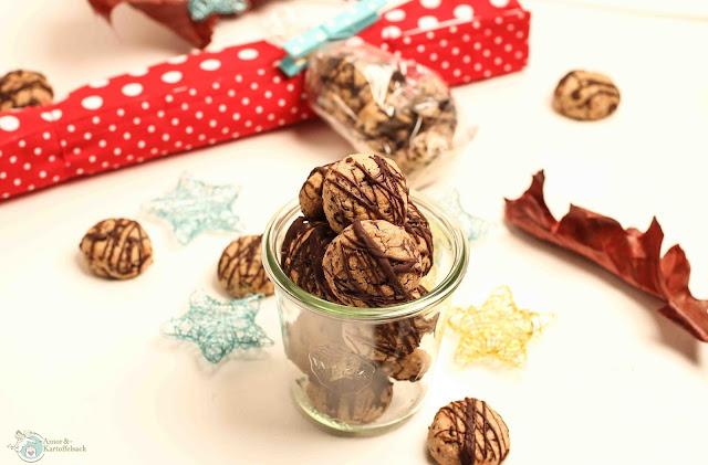 Rezept Kekse mit Nüssen