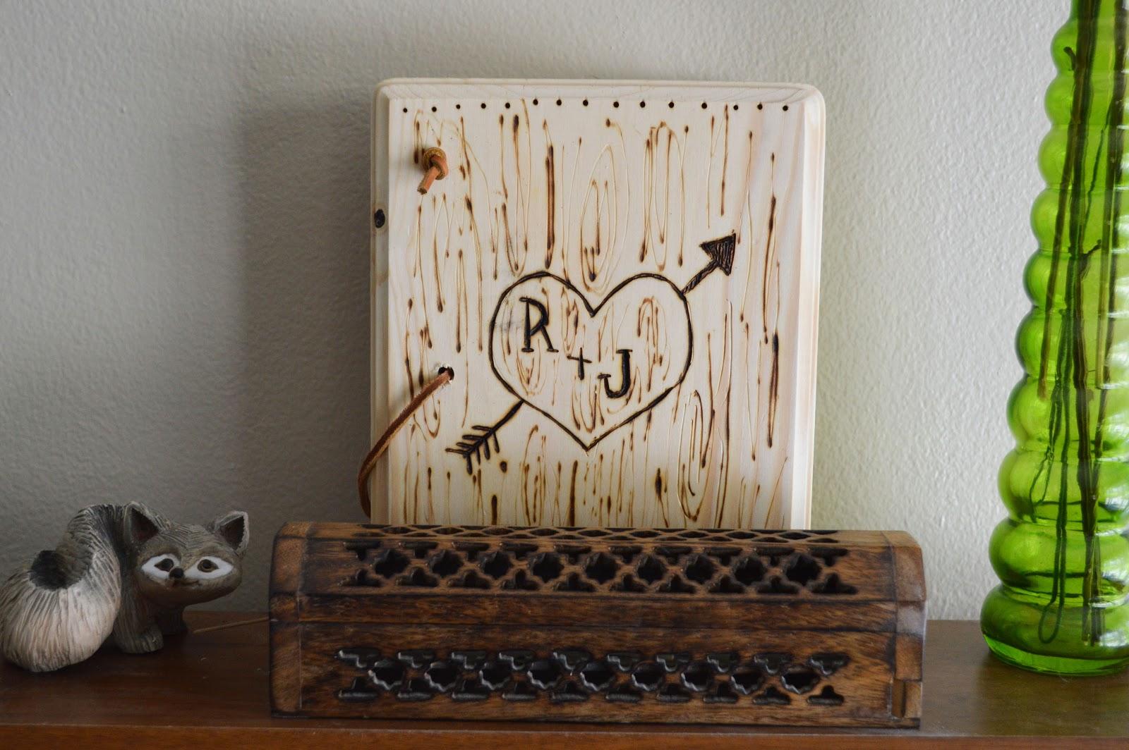 Youngbird Wooden Scrapbook