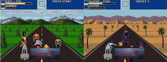 Road Rash Revolutions ( OpenBor Game )