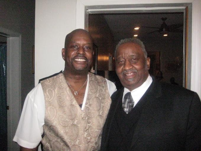 Russell A. Worrell & Bernard Purdie {Dad}