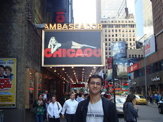 Espetáculo Chicago na Broadway