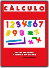 CUADERNILLO DE RESTAS CON Y SIN LLEVADAS DE NÚMEROS DE DOS CIFRAS