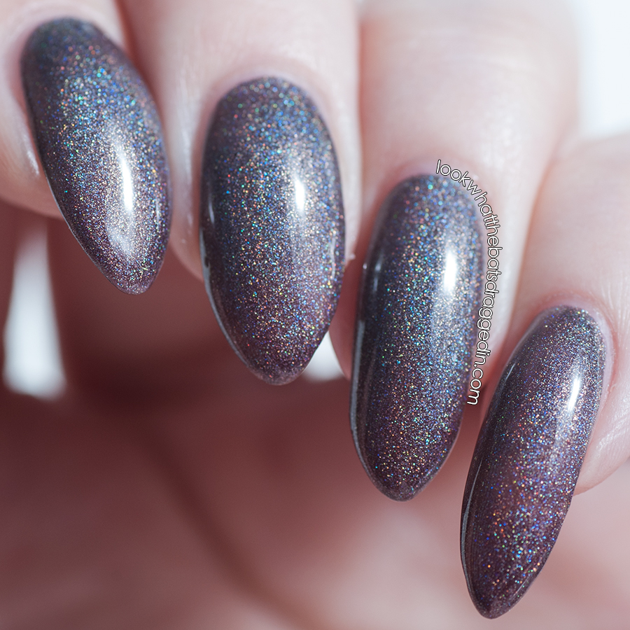 Polished by KPT Belle Ami thermal nail polish swatch