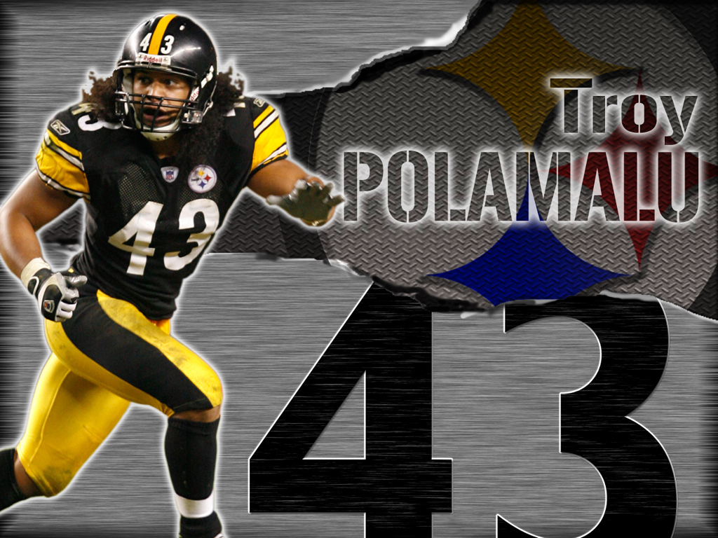 free troy polamalu wallpaper