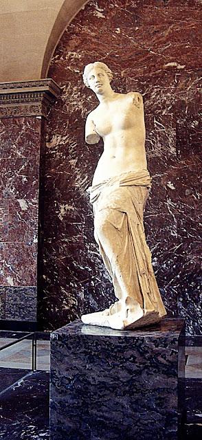Paryż, Wenus z Milo, Luwr, rzeźba starożytna