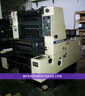 Shinohara 52 Printing Machine