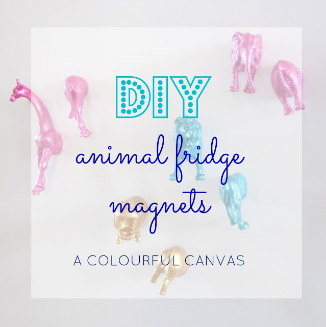 DIY, fridge magnet, tutorial