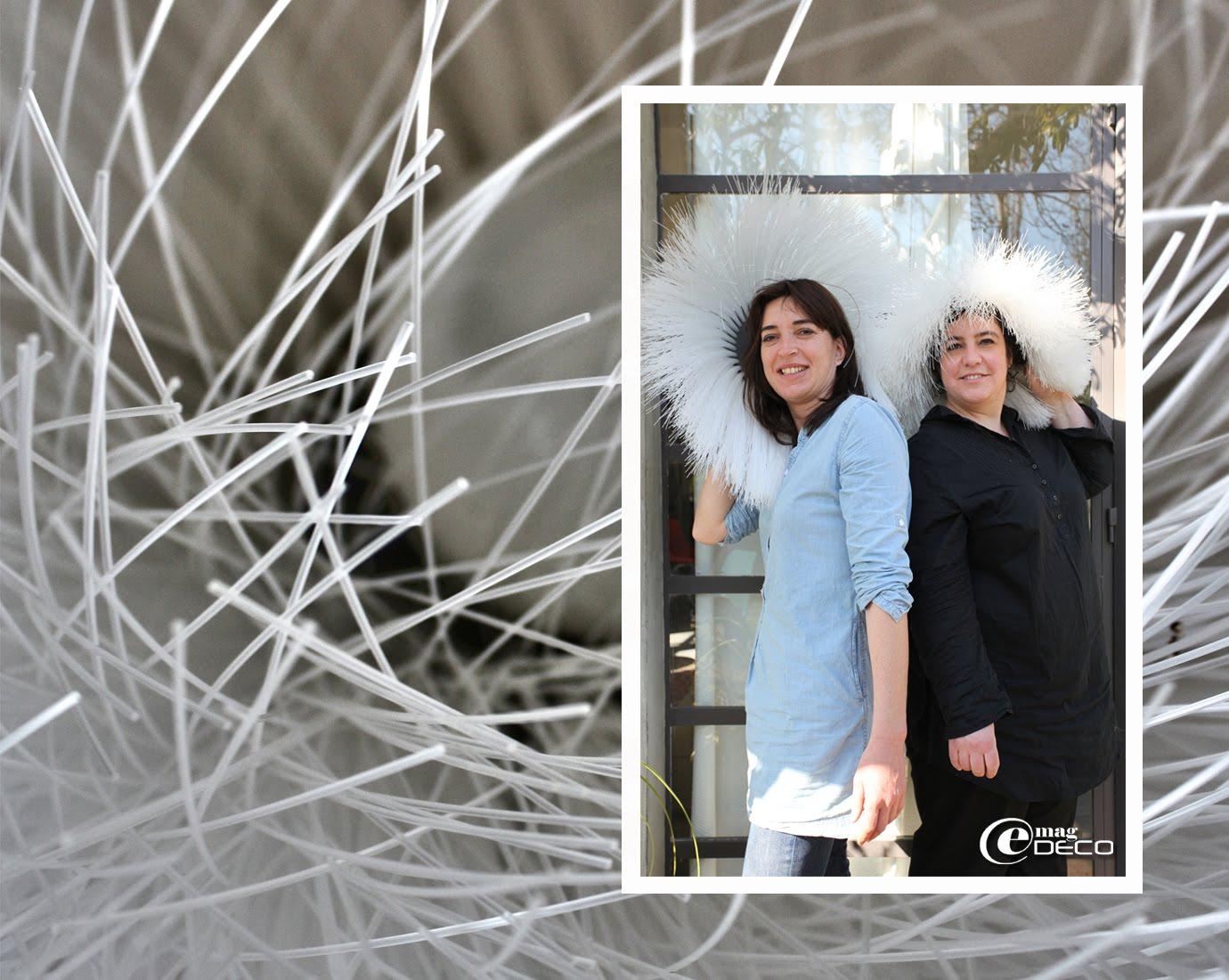 Émilie Dezeuze et Claire de Chivré