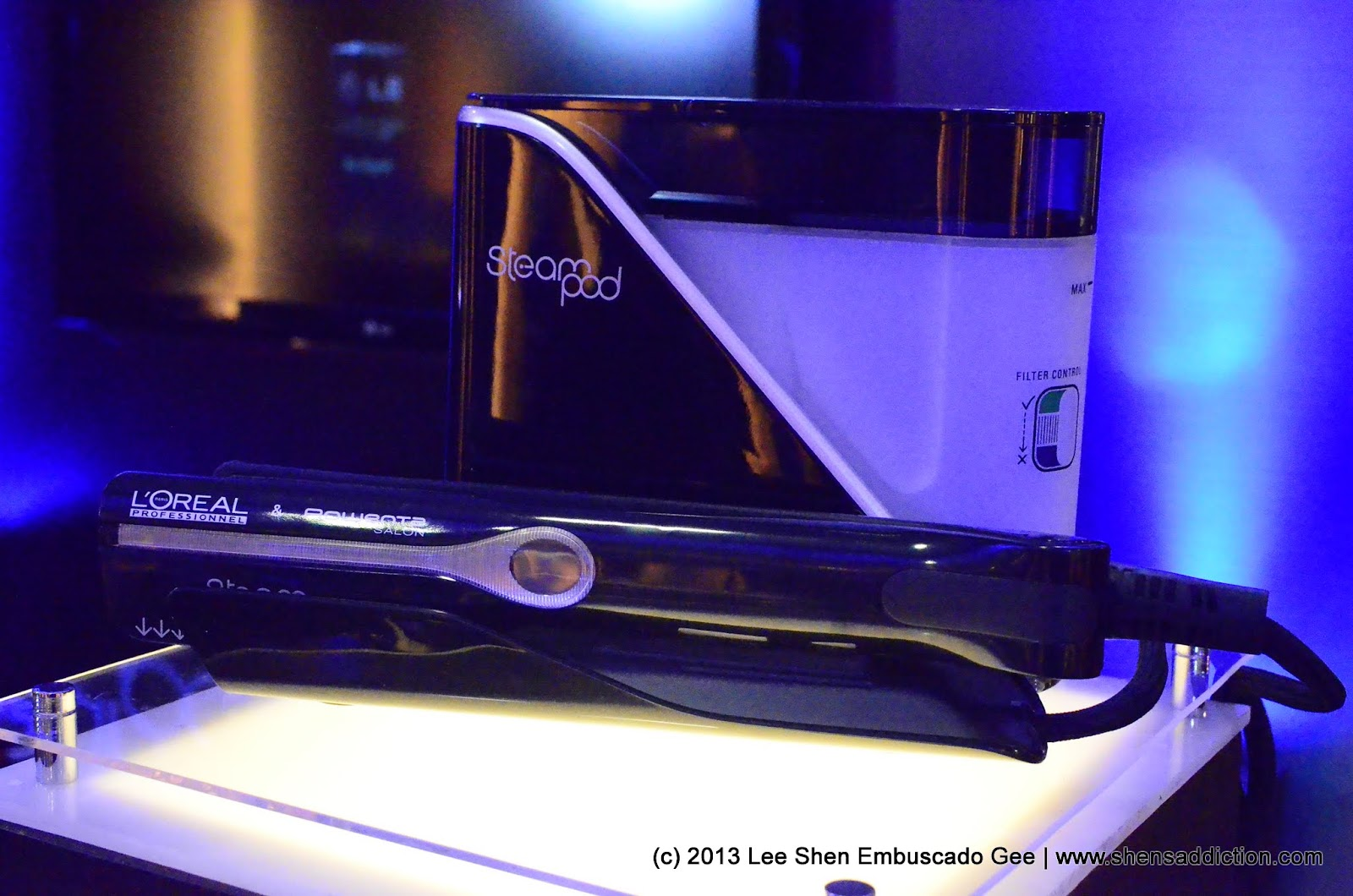 The uncurated life l 39 oreal steampod steam care at bench for Steampod salon