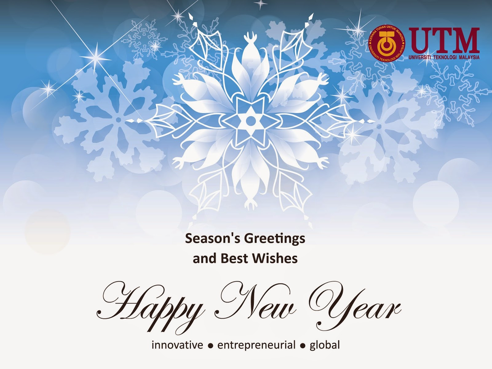 Creative Media Unit Kad Ucapan Seasons Greetings Happy New Year