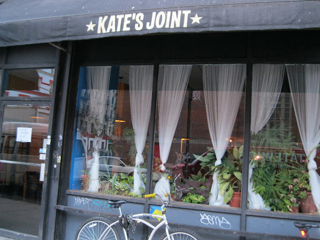 Vegetarian joint lovers will have one less joint to frequent as Kate's Joint has now closed down