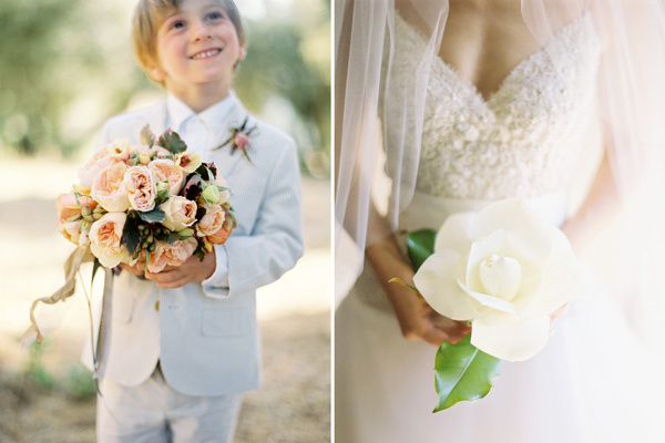 Wedding Bouquets Single Flower : Big bouquet or single bloom a new wedding trend
