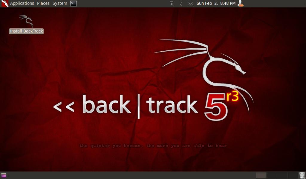 Install Backtrack