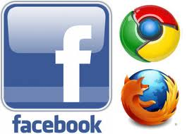 FaceBook, Firefox, Google Chrome, Tips And Tricks
