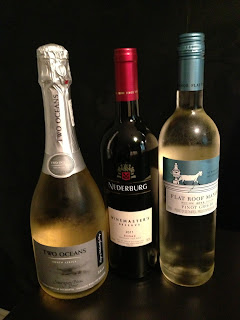 Two Oceans, Nederburg and Flat Roof Manor wine