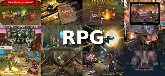 Os 12 melhores jogos RPG para o Android.