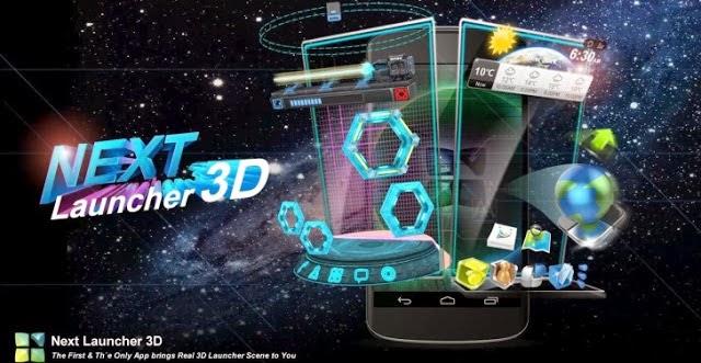 Next Launcher 3D v2.07