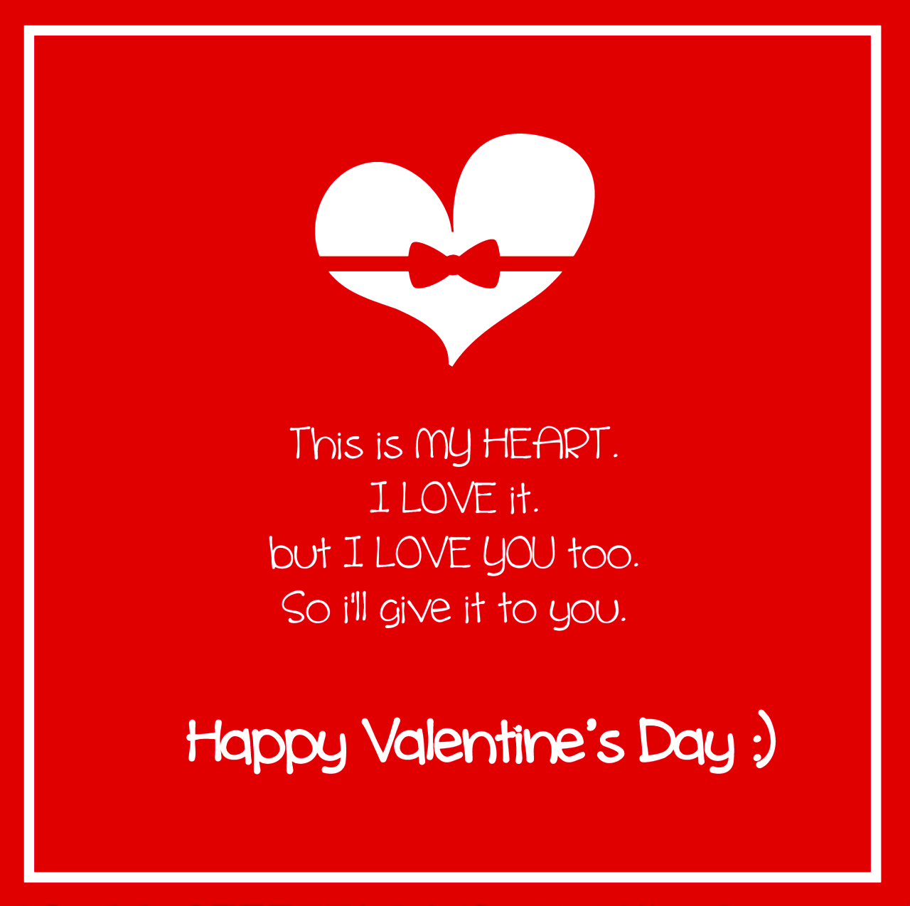 Best Valentine Day Message For Her