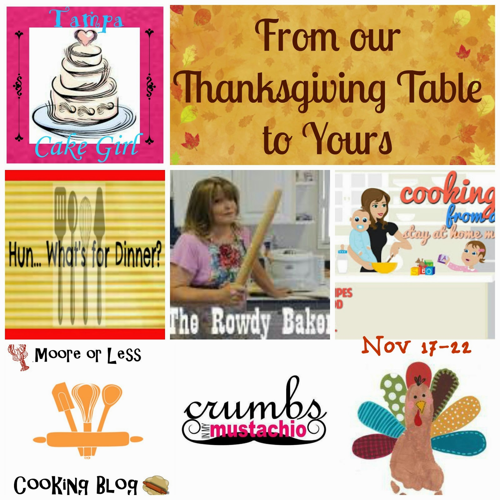 Hun... What's for Dinner? From Our Thanksgiving Table To Yours- Thanksgiving Recipe Round Up