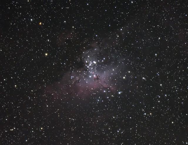 I used my Explore Scientific Telescope with a Meade DSi II for autoguiding