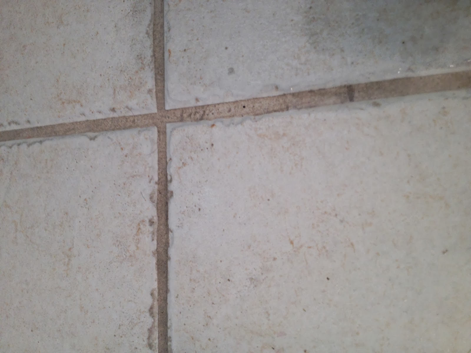 how to clean tile floor grout without chemicals