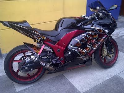 Modifications Kawasaki Ninja 250