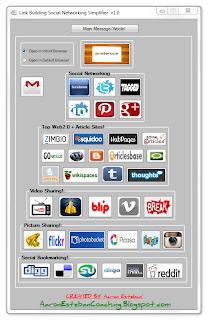 social poster, social bookmarking, link building