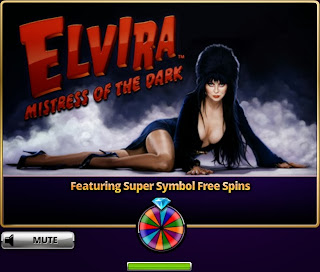 Super symbol free spins at Elvira Slots